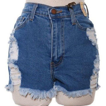Hot Shot Ripped Shorts