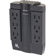 Acoustic Research 6-outlet Swivel In-wall Surge Protector