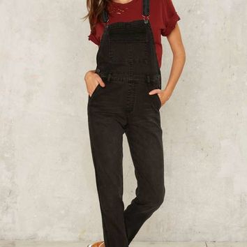 Courtshop Joey Carbon Faded Overall