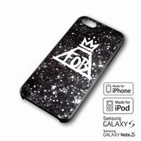 fall out boy sparkle iPhone case 4/4s, 5S, 5C, 6, 6 +, Samsung Galaxy case S3, S4, S5, Galaxy Note Case 2,3,4, iPod Touch case 4th, 5th, HTC One Case M7/M8