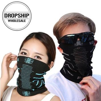 Outdoor Sport Half Face Scarf for Women Men Winter Autumn Windproof Cyling Mask Hood Balaclava Thermal Ski Neck Bandanas Cap Bib