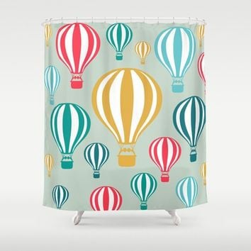 Air balloons Shower Curtain