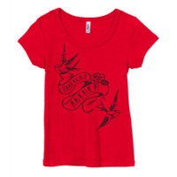 The Gaslight Anthem - Swallows Women's Scoop-Neck T-Shirt