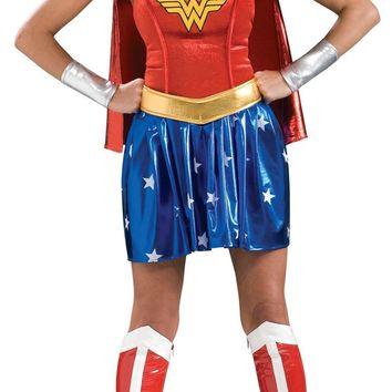Wonder Woman Adult Large 10-14 Costume