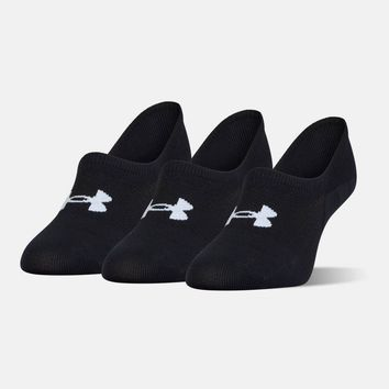 Women's UA Essential Ultra Low Liner Socks 3-Pack | Under Armour US