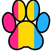 'Pride Paws - Pansexual 2' by sanctimony