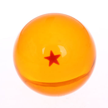 1PC Dragon 4.5CM Dragon Ball Crystal Balls Dragon Ball