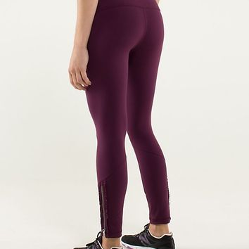 wunder under pant *ruffled up | women's pants | lululemon athletica