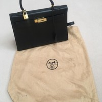 Authentic Hermes Kelly Bag