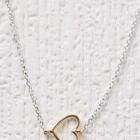 Cool and Interesting Heart Charm Necklace