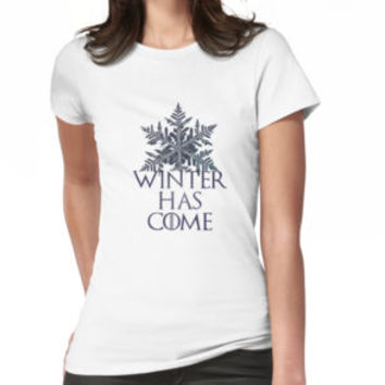 'winter has come' T-Shirt by Rowant