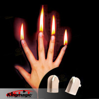 Finger Fire Magic Stage Magic Tricks Magician Gimmick Free Shipping