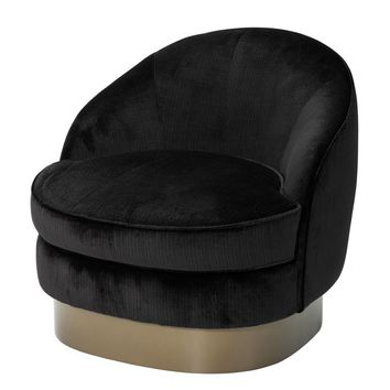 Black Lounge Chair | Eichholtz Bastide