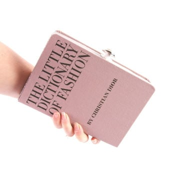 Fashion Dictionary Book Clutch