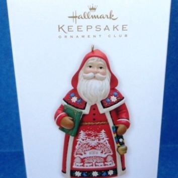 2010 Switzerland Hallmark Santas From Around the World Ornament