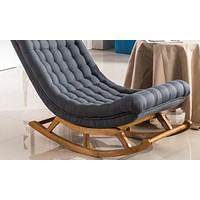 Wooden  Lounge Chair For Cozy Sleep
