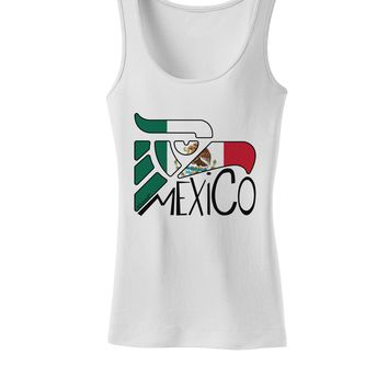 Mexico Eagle Symbol - Mexican Flag - Mexico Womens Tank Top by TooLoud