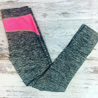 CANT STOP WONT STOP WORKOUT PANTS IN CHARCOAL