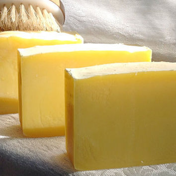 Lemon Crush Shea Butter Handmade Soap