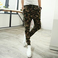 Men Joggers Camouflage Men Pants Cool Army Skinny Casual Military Trouser Hip Hop Fashion Style Sweatpants Como Pants