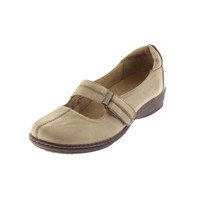 Naturalizer Womens Mosa Leather Round Toe Mary Janes