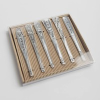 Fine Dining Cheese Markers Set | Ruche