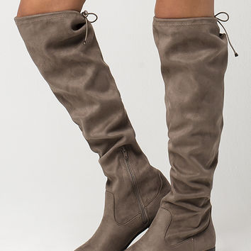 SODA Over The Knee Womens Boots | Boots + Booties