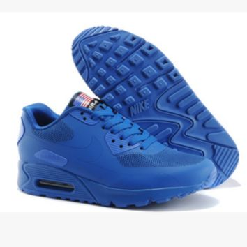 """NIKE"" Women Popular Sneakers Breathable Running Sport Shoes Blue"