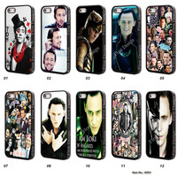 tom hiddleston, Resin iPhone 5S case, iPhone 5C Case, iPhone 4S case, Samsung Galaxy S3 S4 S5 Case, Galaxy Note 2 Note 3 Case - t0001