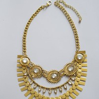 Gypsy Gold Necklace