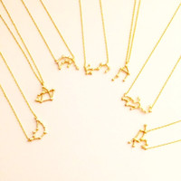Zodiac Collection Necklaces - All Zodiac Signs