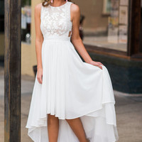 A Night To Remember Maxi Dress, Ivory