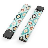 Skin Decal Kit for the Pax JUUL - Dotted Moroccan pattern