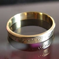 Coin ring from Israel coin steampunk