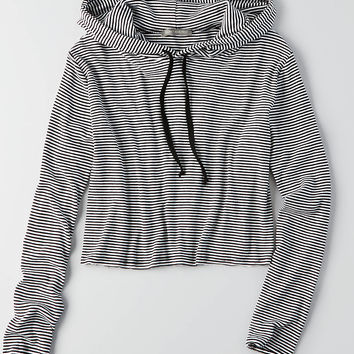 DON'T ASK WHY CROP HOODIE