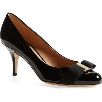 'Carla' Patent Leather Pump (Women)
