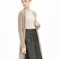 Banana Republic Womens Todd & Duncan Cashmere Long Cardigan