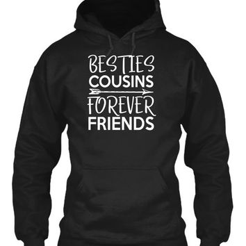 Besties Cousins Forever Friends Matching Cousin Bff Shirts