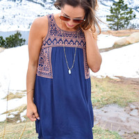 Weekender Embroidered Dress