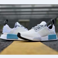 ADIDAS Women Running Sport Casual NMD Shoes Sneakers New color White