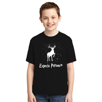 Harry Potter Expecto Patronum Youth T-shirt