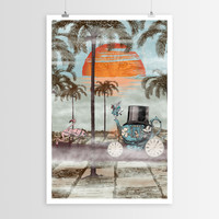 Paula Belle Flores's Alice Goes to California POSTER
