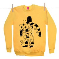 Street Market — Ohh Deer - The Hole - Yellow Sweater By Jack Teagle