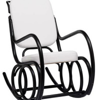 Michael Thonet Dondolo Rocking Chair by TON