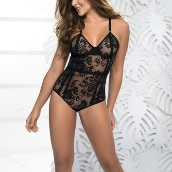 Inner Goddess Lace Teddy