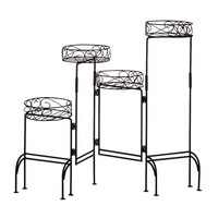 VERDUGO GIFT Four-tier Plant Stand Screen