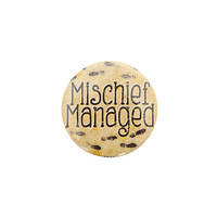 Harry Potter Mischief Managed Pin