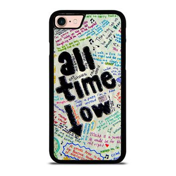 ALL TIME LOW COLOUR iPhone 8 Case Cover