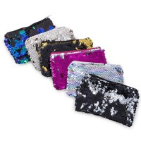 sequin zipper coin purse 5in x 3in | Five Below