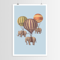 Terry Fan's Flight of the Elephants POSTER